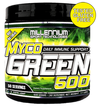 MYCOGREEN-500 (500 gram - 50 Serving) GLUTEN FREE!